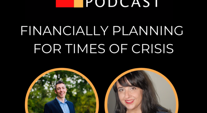 Financially Planning for Times of Crisis