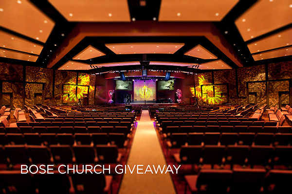 Bose Professional Introduces Bose Church With 12-Week Giveaway